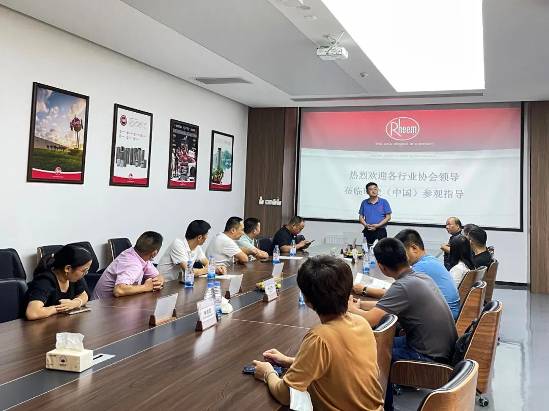 会员企业代表一行莅临瑞美(中国)总部参观考察